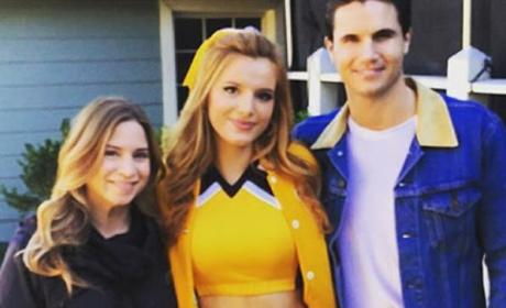 Bella Thorne Rocks Cheerleader Outfit, Internet Loses Its Mind