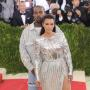 Kim and Kanye at the MET