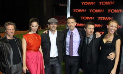 The Town Premieres in Fenway Park