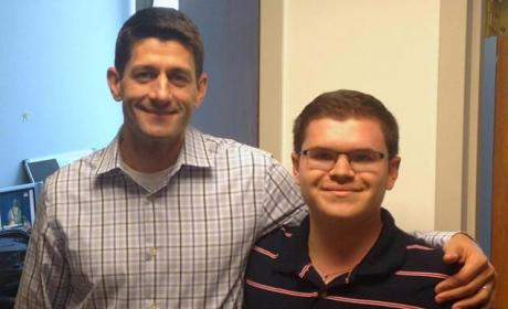 Adam Savader and Paul Ryan