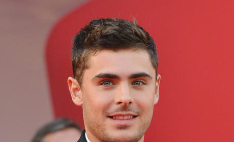 Zac Efron in Venice