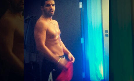 Drake: Shirtless, Ripped on Instagram!