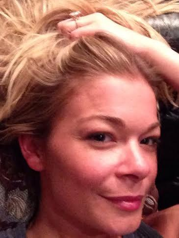 LeAnn Rimes No Makeup Photo