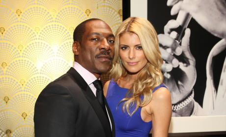 Paige Butcher: Dating Eddie Murphy!