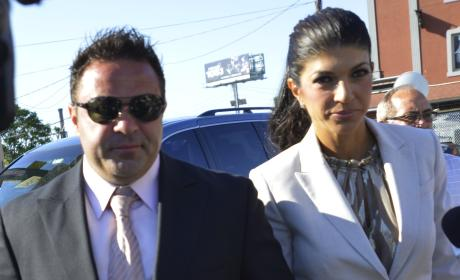 Joe, Teresa Giudice Photo