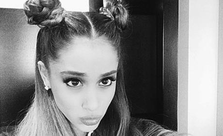 Ariana Grande Channels Princess Leia on Day Awf: See Her Star Wars Hair!