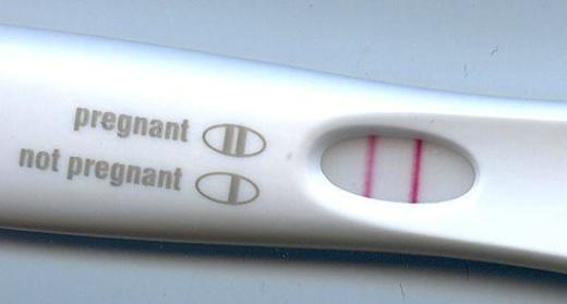 Positive Preg. Test