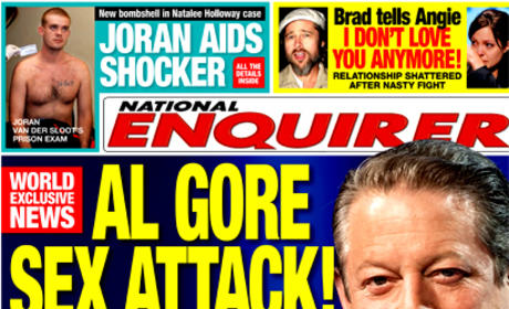 An Inconvenient Rumor: Al Gore Accused of Sexual Assault on Massage Therapist