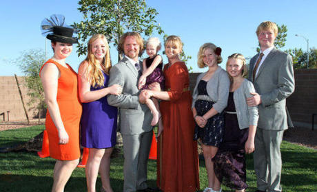 Kody Brown and Sister Wives Photo