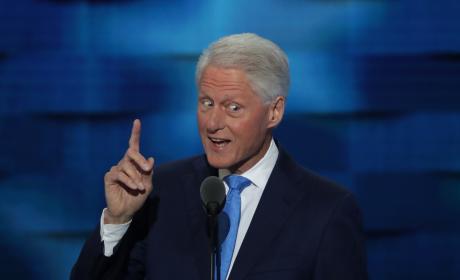 Bill Clinton DNC Photo