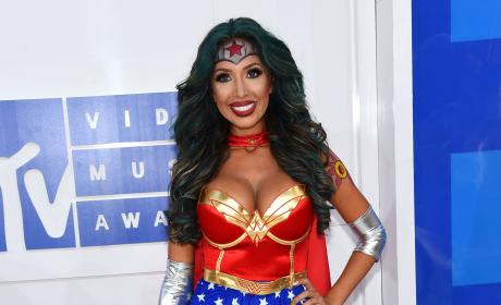 Farrah Abraham Wonder Woman Costume VMAs 2016