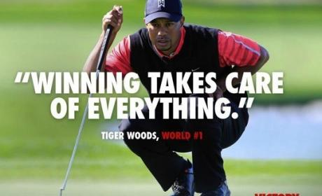 Tiger Woods Winning