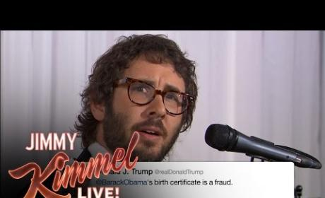 Josh Groban Sings Actual Donald Trump Tweets