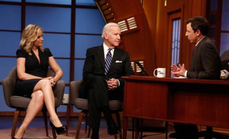 Joe Biden on Late Night