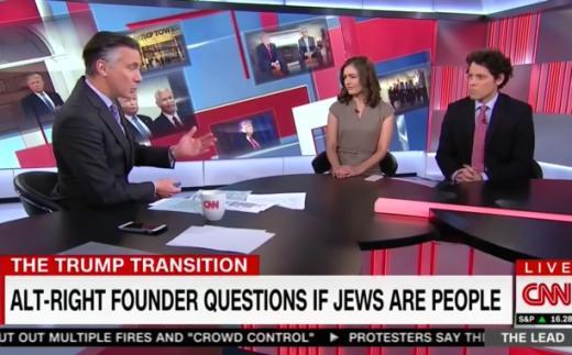 CNN: Anti-Semitic Graphic