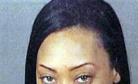 Farrah Franklin Arrested For Disturbing the Peace