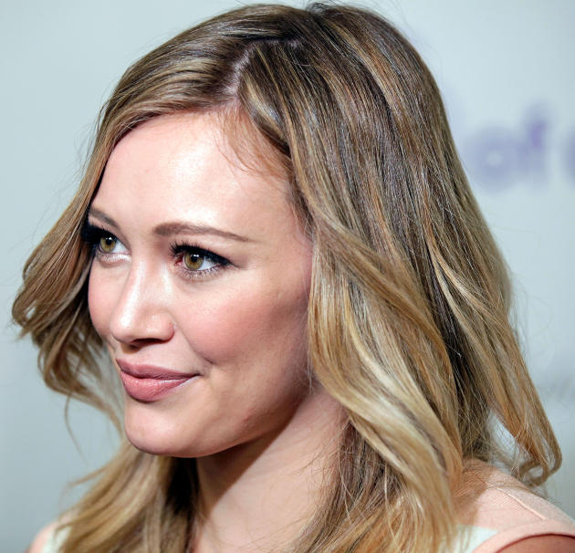 Hilary Duff Up Close