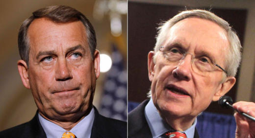 Boehner and Reid