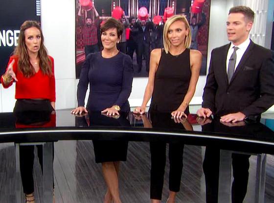 Kris Jenner on E! News