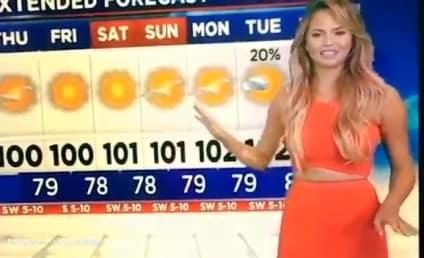 Chrissy Teigen is a Terrible Meteorolgist: Video Evidence!