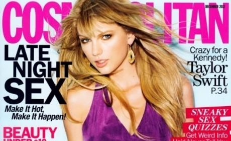 Taylor Swift Gets Sexy on Awkward Cosmo Cover