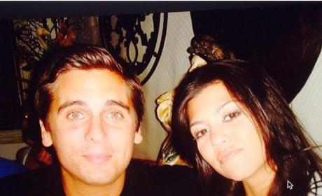 Kourtney Kardashian Shares Throwback Pic: Missing Scott Disick??