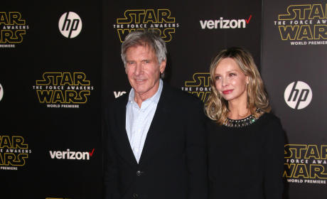 Harrison Ford and Calista Flockhart: 'Star Wars: The Force Awakens' Premiere