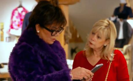 Kris Jenner Reacts to Rob Engagement: WTF?!?!?!?