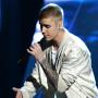 Justin Bieber on Vegas Stage