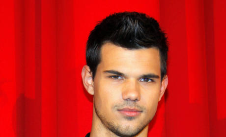 Taylor Lautner on a Red Carpet