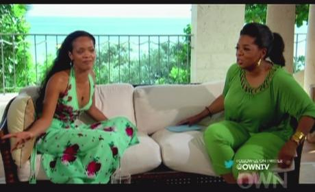 Oprah and Rihanna Pic