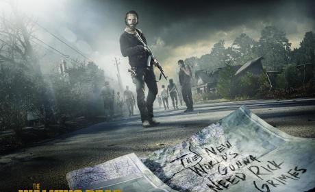 The Walking Dead Key Art
