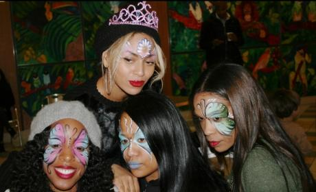 Beyonce at a Birthday Party