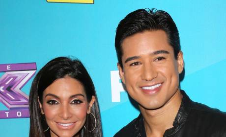 Mario Lopez and Courtney Mazza: Married!