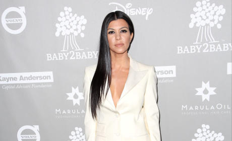 Kourtney Kardashian: Parties Too Much! Leaves Kids At Home!