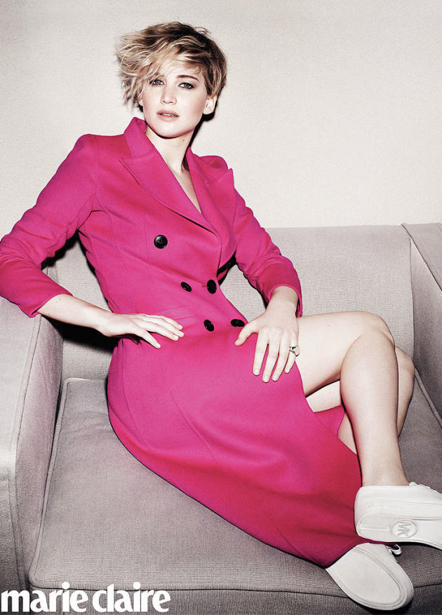 Jennifer Lawrence Marie Claire Photo
