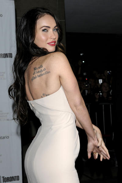 Megan Fox, Tattoo Photo