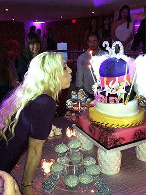 Britney Spears Birthday Pic
