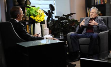 Michael Douglas Declares: I've Beaten Cancer!