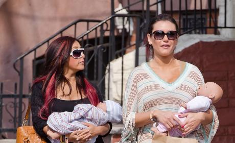 Snooki and JWoww: Fake Parents of the Year