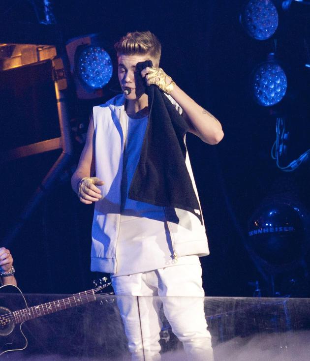Justin Bieber Takes a Break