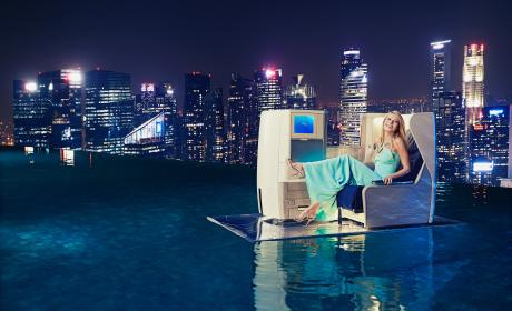 Gwyneth Paltrow Helps Launch British Airways New A380 Superjumbo Aircraft With Service Between London and Singapore