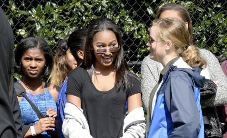 Sasha Obama Image