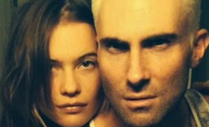 Adam Levine Dyes Hair Blonde, Looks Terrible