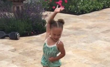 This Riley Curry Video Will Start Your Week Off Right