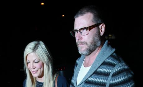 Tori Spelling: Spotted on Shopping Spree as Financial Woes Mount