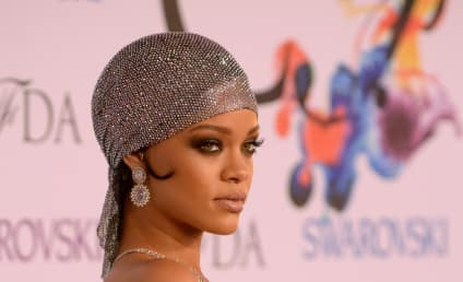 Rihanna: My Boobs are Covered in Swarovski Crystals!