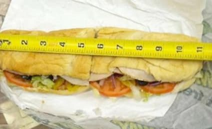 Subway Foot-Long Subs: Actually Only 11 Inches!