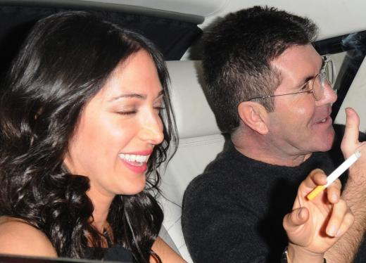 Simon Cowell and Lauren Silverman Photo