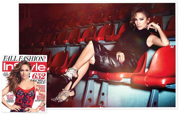Jennifer Lopez InStyle Photo